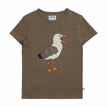 CarlijnQ T-shirt Seagull Print