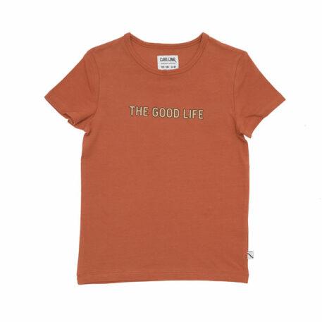 CarlijnQ T-shirt The Good Life Rust