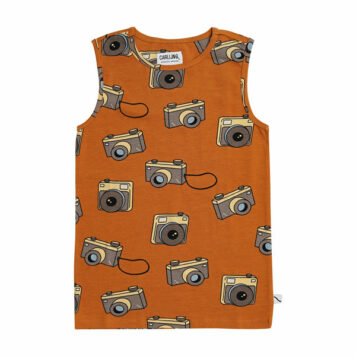 CarlijnQ Tanktop Photo Camera