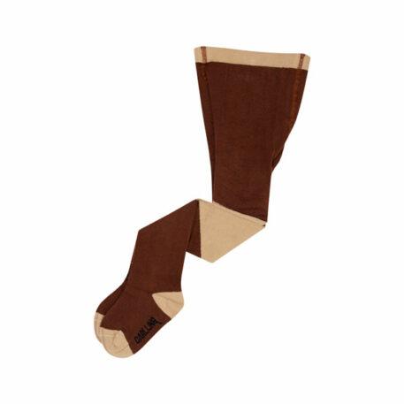 CarlijnQ Tights Diagonal Brown/Sand