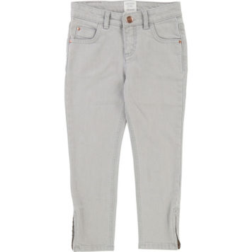 Carrément Beau Broek Denim Grey