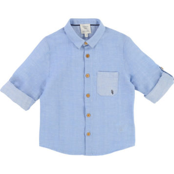 Carrément Beau Hemd Blanc Blue