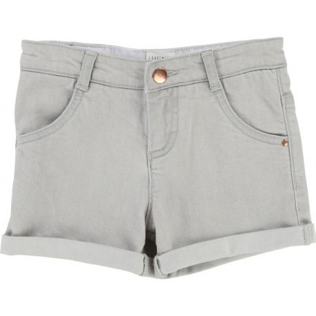 Carrément Beau Short Denim Grey
