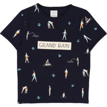 Carrément Beau T-shirt Grand Bain