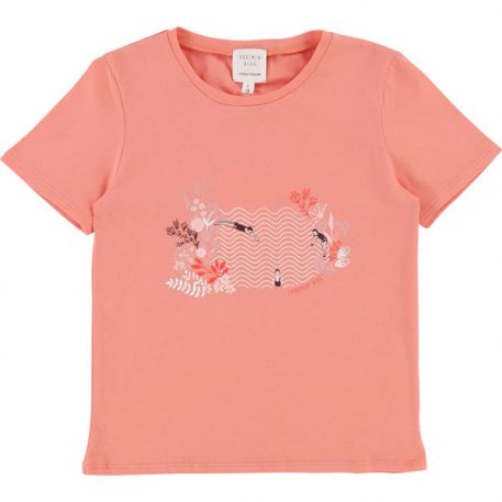 Carrément Beau T-shirt Swimming Flowers