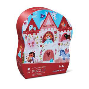 Crocodile Creek Mini Puzzle Little Princess 24ST