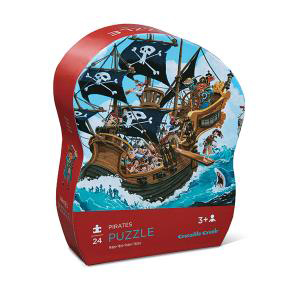 Crocodile Creek Mini Puzzle Pirate 24ST