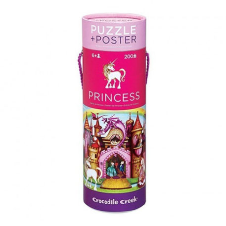 Crocodile Creek Poster & Puzzle Princess Palace