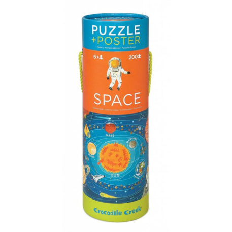 Crocodile Creek Poster & Puzzle Space 200ST