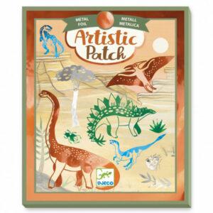 Djeco Artistic Patch Dinosaurus 6+