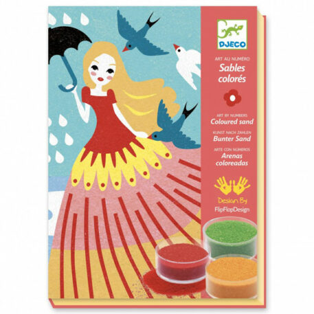 Djeco Coloured Sands Girls' Day Out 6+