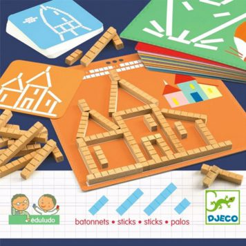 Djeco Eduludo Sticks