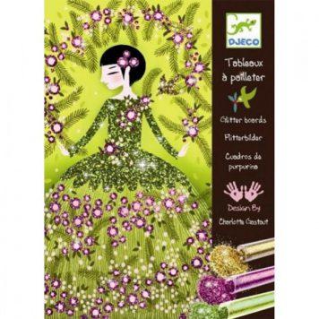 Djeco Glitterschilderijen Dresses
