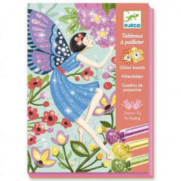 Djeco Glitterschilderijen Fairies 7+