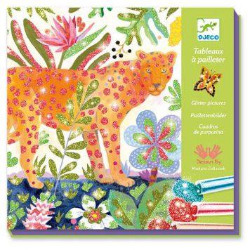 Djeco Glitterschilderijen Tropico