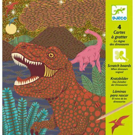 Djeco Kraskaarten Dino's