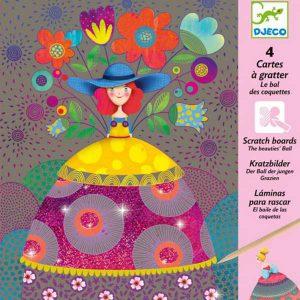 Djeco Kraskaarten Het Bal van de Mooie Dames