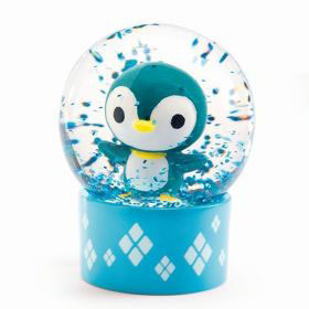Djeco Mini Schuddebol Pinguin