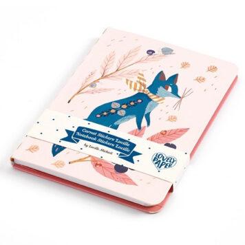 Djeco Notitieboekje Lucille met stickers