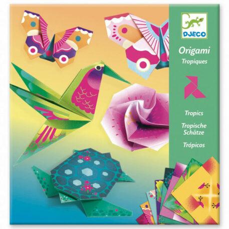 Djeco Origami Tropics 6+