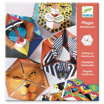 Djeco Origami Vouwdieren Caleidocycli