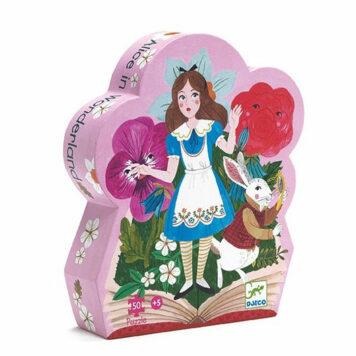 Djeco Puzzel Alice in Wonderland 50ST
