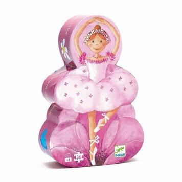 Djeco Puzzel De Ballerina en de Bloem 36ST