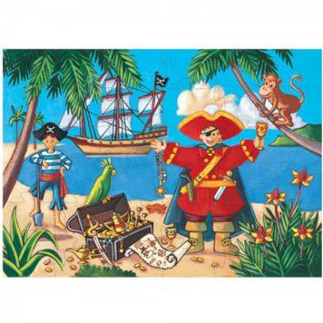 Djeco Puzzel De Piraat en de Schat