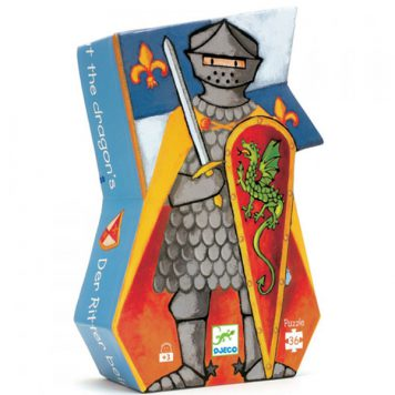 Djeco Puzzel De ridder en de draak 36ST