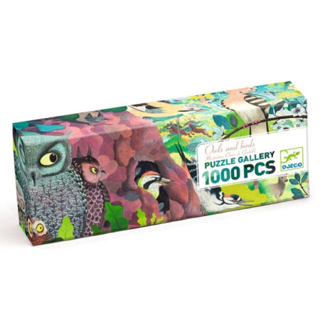 Djeco Puzzel Gallery Owls and Birds 1000ST