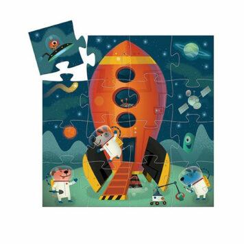 Djeco Puzzel Het Ruimteschip 16ST