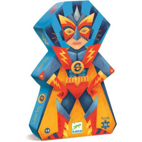 Djeco Puzzel Laser Boy 36ST
