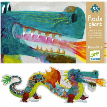 Djeco Puzzel Leon de Draak