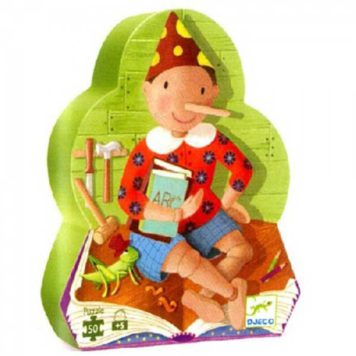 Djeco Puzzel Pinokkio 50ST