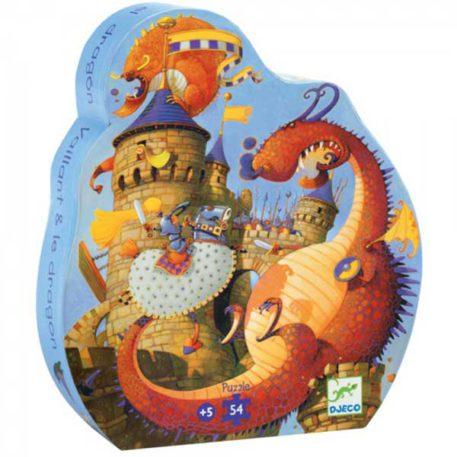 Djeco Puzzel Ridders en Draken 54ST