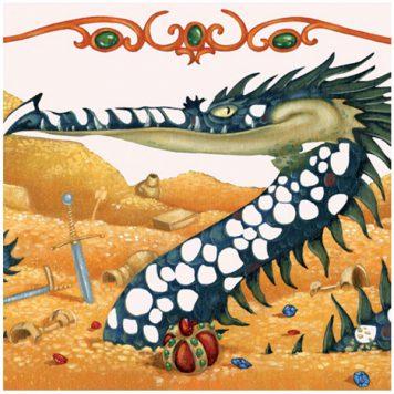 Djeco Schilderijen Metaalfolie Draken