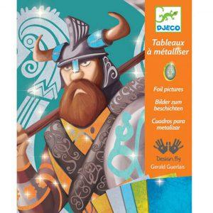 Djeco Schilderijen Metaalfolie Vikingen 7+