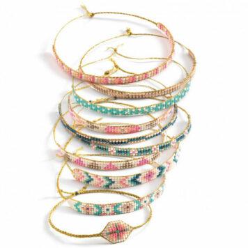 Djeco Sieraden Maken - Armbandjes weven 8+