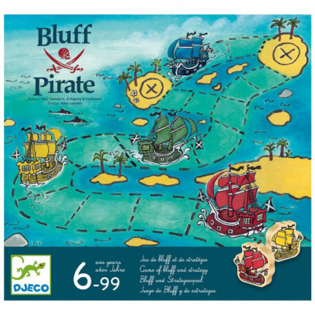 Djeco Spel Bluff Pirate 6+