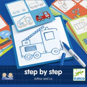 Djeco Step by Step Arthur&Co