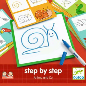 Djeco Step by Step Dieren