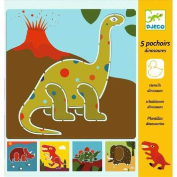 Djeco Tekensjablonen Dino