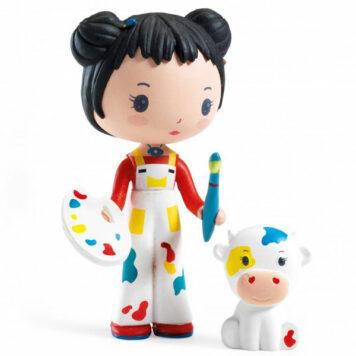 Djeco Tinyly speelfiguur - Barbouille & Gribs