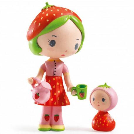 Djeco Tinyly speelfiguur - Berry & Lila