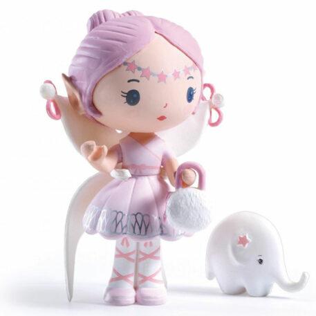 Djeco Tinyly speelfiguur - Elfe & Bolero