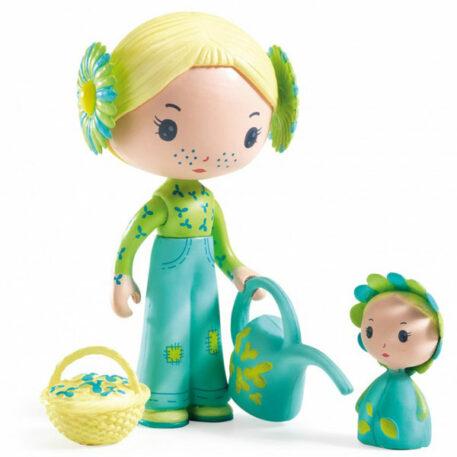Djeco Tinyly speelfiguur - Flore & Bloom