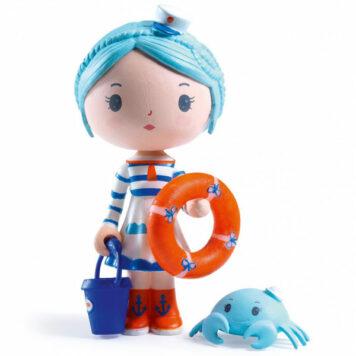 Djeco Tinyly speelfiguur - Marinette & Scouic
