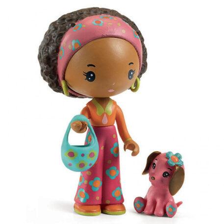 Djeco Tinyly speelfiguur - Poppy & Nouky