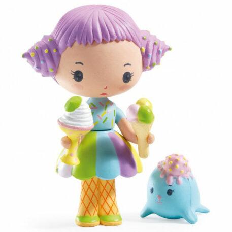 Djeco Tinyly speelfiguur - Tutti & Frutti