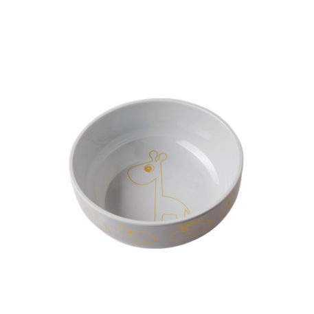 Done by Deer Yummi Bowl Contour Gold/Grey